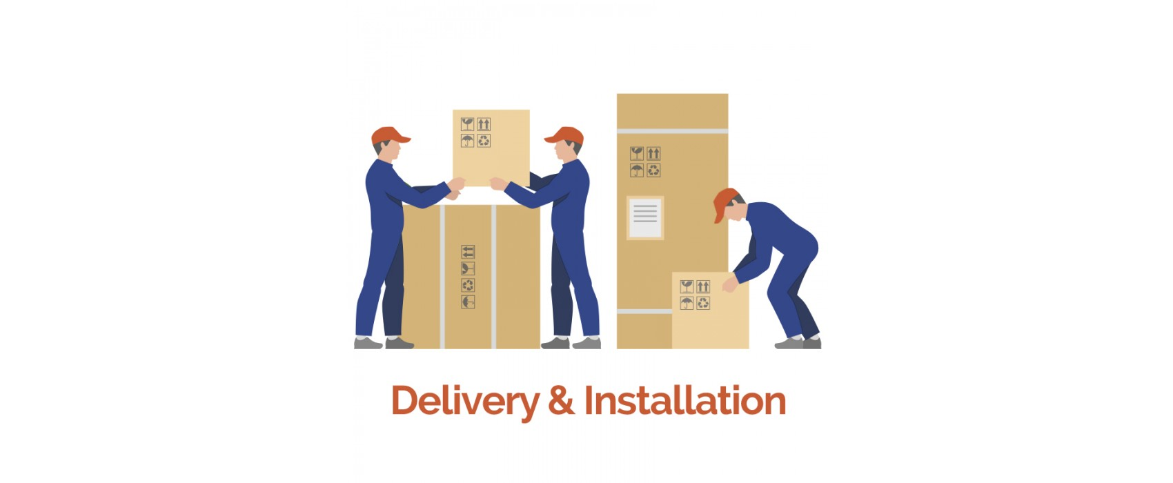 Delivery installation